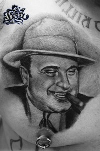 El Whyner, Tattoos, Black and Gray, Tattoo, Chicano (1)