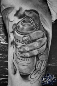 El Whyner, Tattoos, Black and Gray, Tattoo, Chicano (3)
